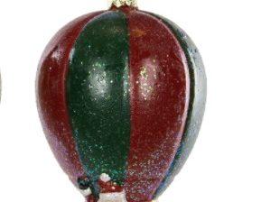 Joulukoriste, ilmapallo - vihreä