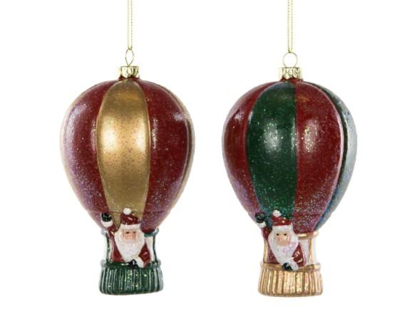 Joulupukit matkalla kuumailmapallossa, 2 kpl