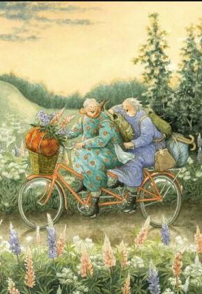 Mummot tandemilla - Inge Löök