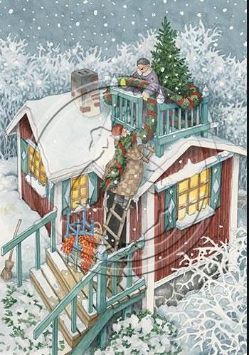 Mummot koristelevat joulua - Inge Löök
