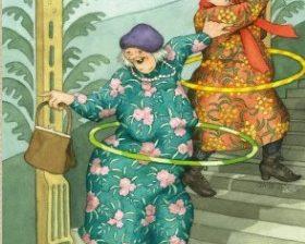 Mummot hulaamassa - Inge Löök