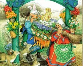 Mummot pääsiäistunnelmissa - Inge Löök