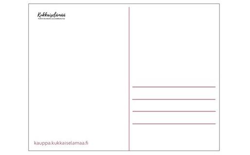 Kukkaiselämää-kortti