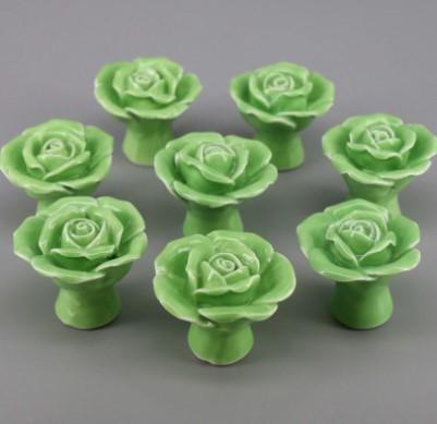 Ovennuppi, vihreä ruusu