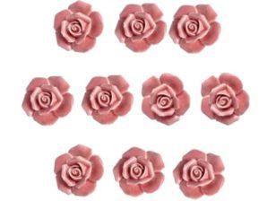 Ovennuppi, roosa ruusu