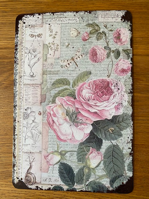 Peltitaulu, ruusu