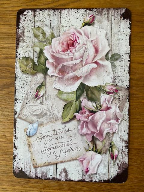 Peltitaulu, ruusut