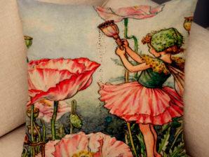 Kukkaiskeiju-tyynynpäällinen