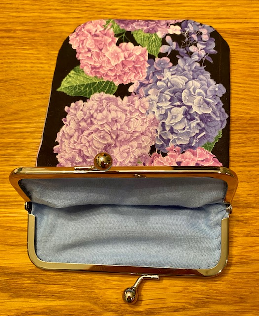 Hortensia-kukkaro