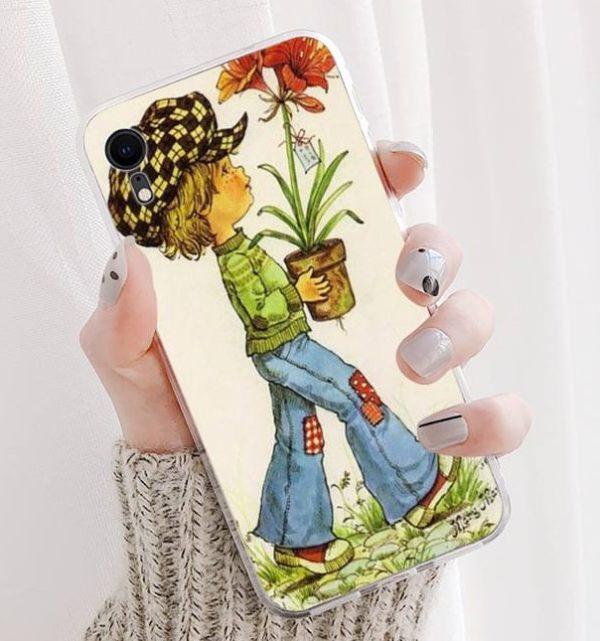 Sarah Kay -aiheinen suojakuori iPhone 11