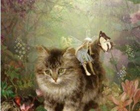 Juliste, kissa ja keiju