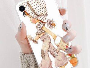 Suojakuori iPhone 11 -puhelimelle (Sarah Kay -aiheinen)
