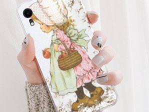 Suojakuori iPhone 11 Pro Max -puhelimelle (Sarah Kay -aiheinen)