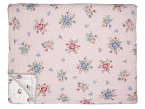 Päiväpeite Roberta pale pink 100x140cm - GreenGate