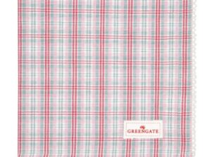 Koriliina Beth check raspberry - GreenGate