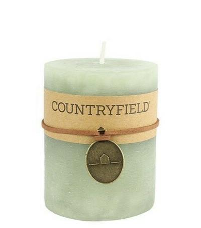 Kynttilä, Classic, vaaleanvihreä, koko M