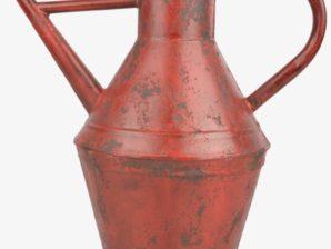 Kastelukannu 5 l, Vintage-tyylinen, punainen