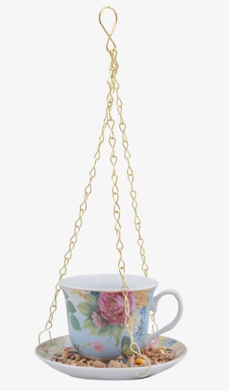 Lintujenruokinta, teekuppi, Esschert Design