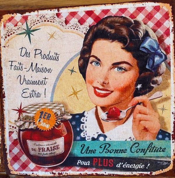 Tilkut, Vintage-tyyliset ladyt, 7 kpl