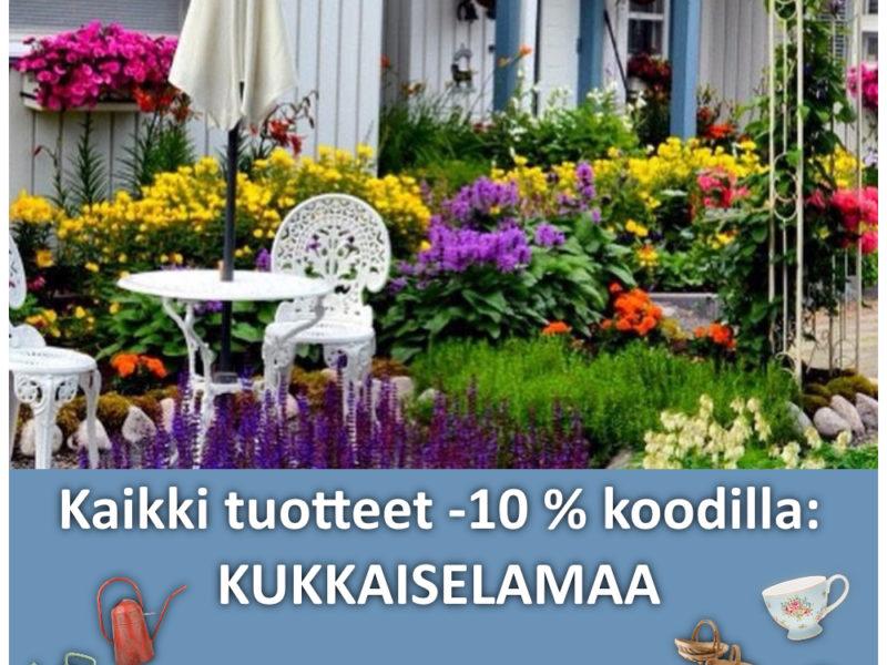 Tervetuloa Kukkaiselämää-kauppaan!