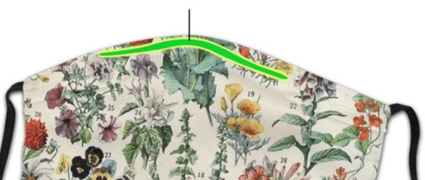 Kasvomaski, puutarhan kasvit