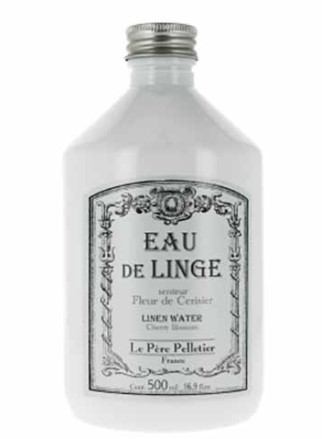 Silitysvesi täyttöpullo, Eau de Linge, raikkaus, Le Père Pelletier 500 ml