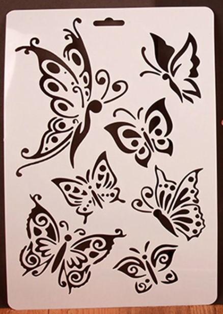 Sabluuna, perhoset