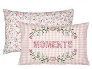 Tyynynpäällinen Moments pale pink - GreenGate
