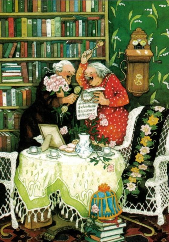 Postikortti numero 31, Mummot laulavat - Inge Löök