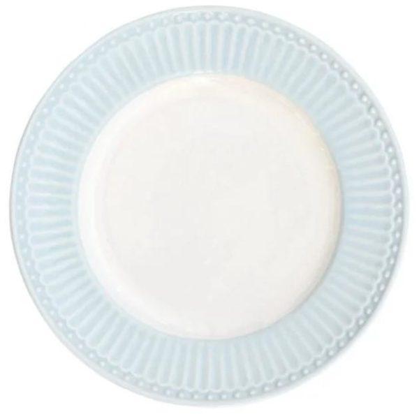 Lautanen 17,5 cm, Alice pale sininen - GreenGate