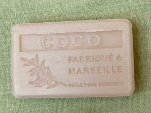 Marseille-saippua, kookos