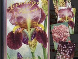 Kortit peltirasiassa, Vintage-kukat, 20 kpl, Sköna Ting