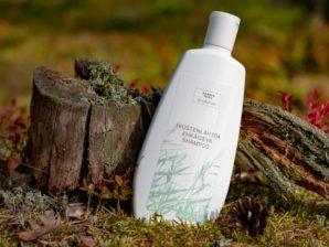 Hiustenlähtöä ehkäisevä shampoo 400 ml - Sulfaatiton, Parabeeniton, Vegaaninen, 100% Luonnollinen - Saaren Taika Ecolution
